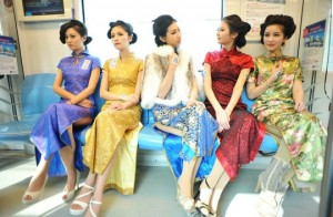Traditional Cheongsam Qipao Dress For Women